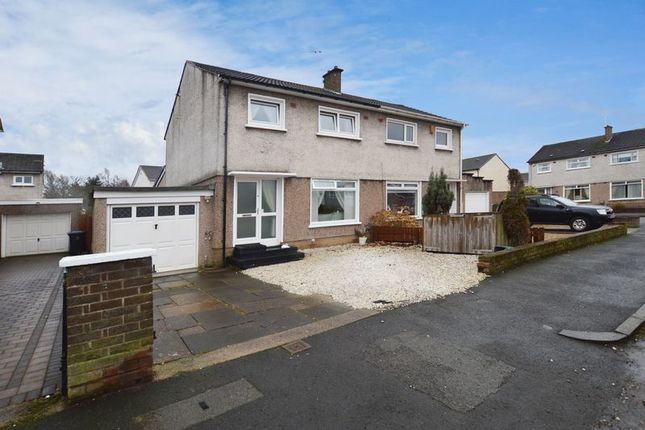 Thumbnail Semi-detached house for sale in Pentland Drive, Renfrew