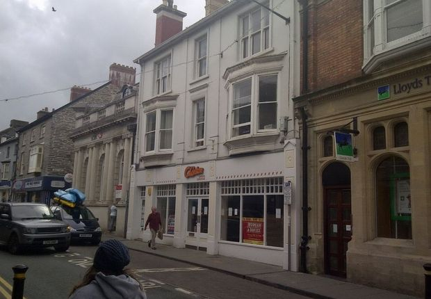 Commercial property for sale in 12/13 High Street, Cardigan, Ceredigion