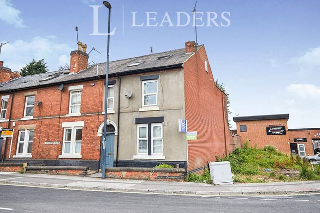 Thumbnail Terraced house to rent in Uttoxeter Old Road, Derby