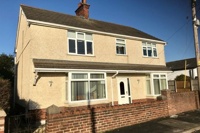 Thumbnail Detached house for sale in Spon Green, Buckley