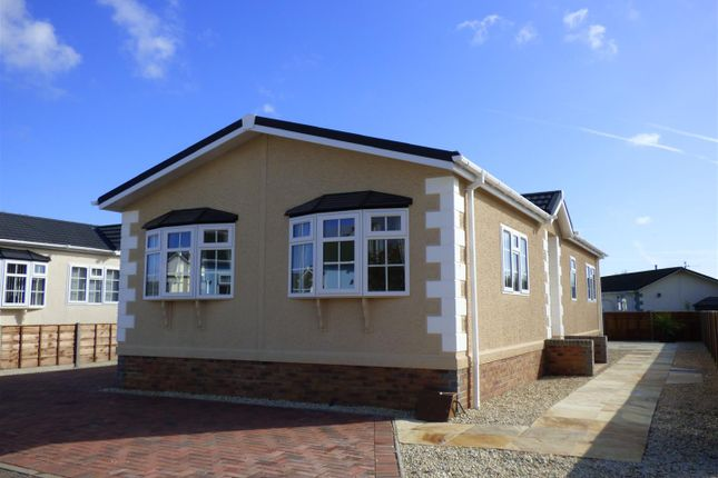 Thumbnail Detached bungalow for sale in Severn Bridge Park Homes, Beachley, Chepstow