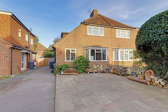 Thumbnail Semi-detached house for sale in Bruce Avenue, Worthing, West Sussex
