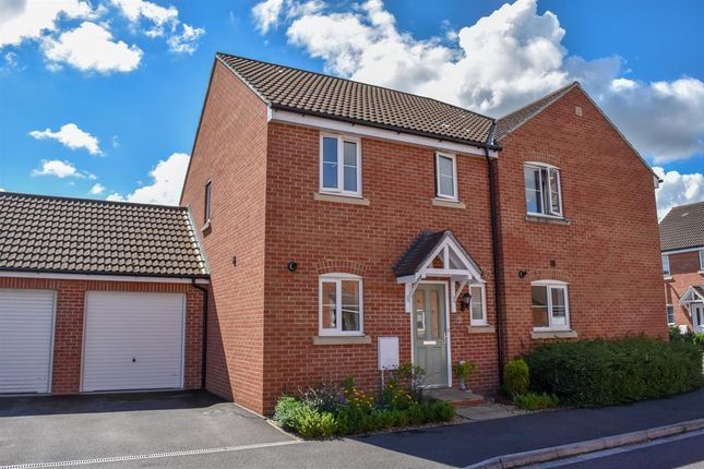 Thumbnail Semi-detached house for sale in Hayward Avenue, West Wick, Weston-Super-Mare