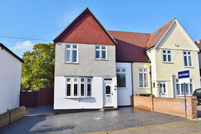 Thumbnail Semi-detached house for sale in Boundary Road, Sidcup, Kent
