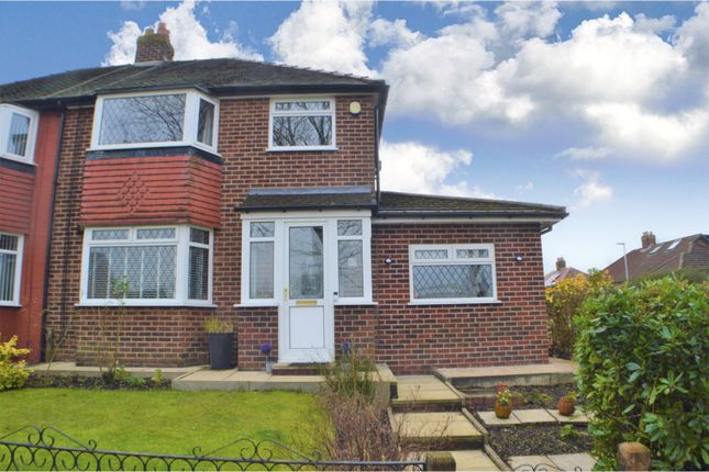 3 bed semi-detached house for sale in Hazel Road, Whitefield, Manchester M45