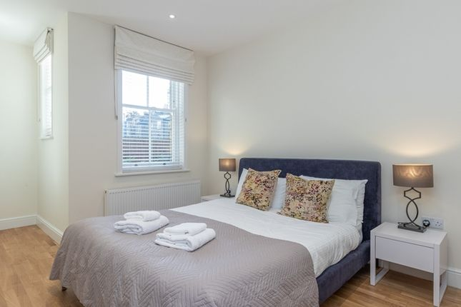 Typical Bedroom of King Street, London W6