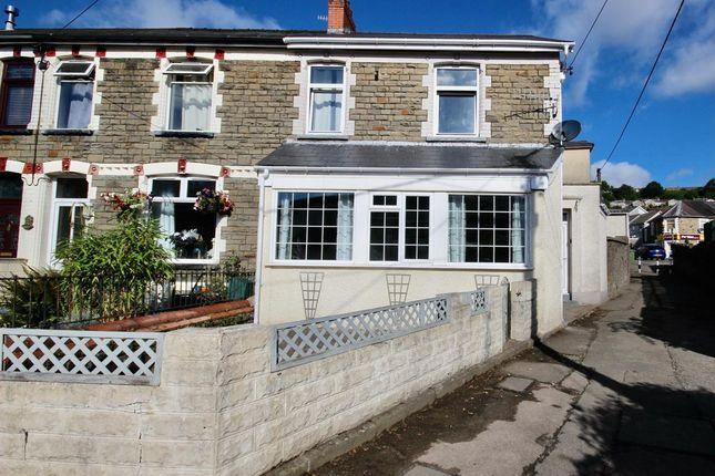 Semi-detached house for sale in Greenfield Avenue, Newbridge, Newport