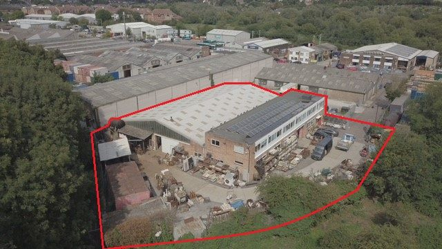 Thumbnail Warehouse for sale in Marsh Lane, Ware
