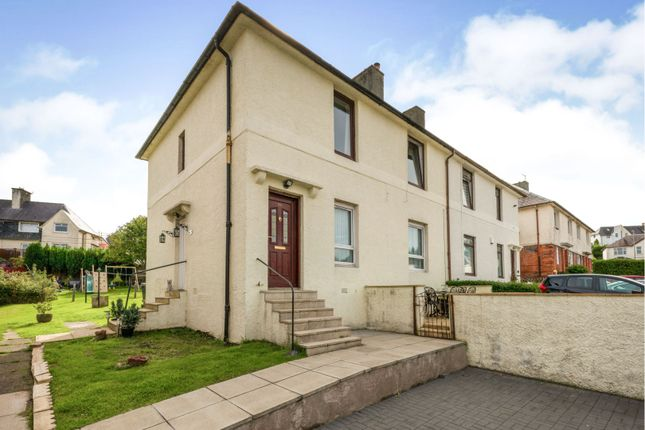 Thumbnail Flat for sale in Rodney Road, Gourock