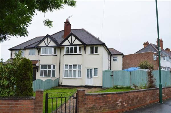 Thumbnail Semi-detached house for sale in Hardwick Road, Solihull, Solihull