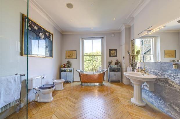 Master Bathroom of Leinster Gardens, London W2