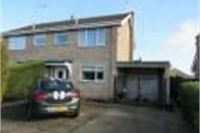 Thumbnail Semi-detached house to rent in Torfrida Drive, Bourne, Lincolnshire