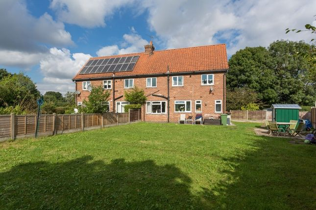 Thumbnail Semi-detached house for sale in The Crescent, Kexby, York