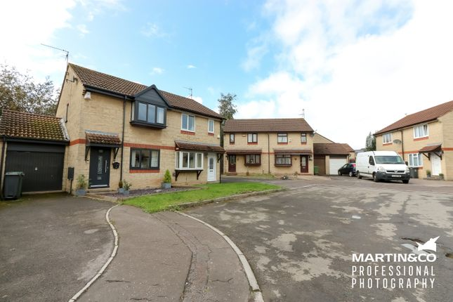 Thumbnail Semi-detached house for sale in Swanage Close, St. Mellons, Cardiff