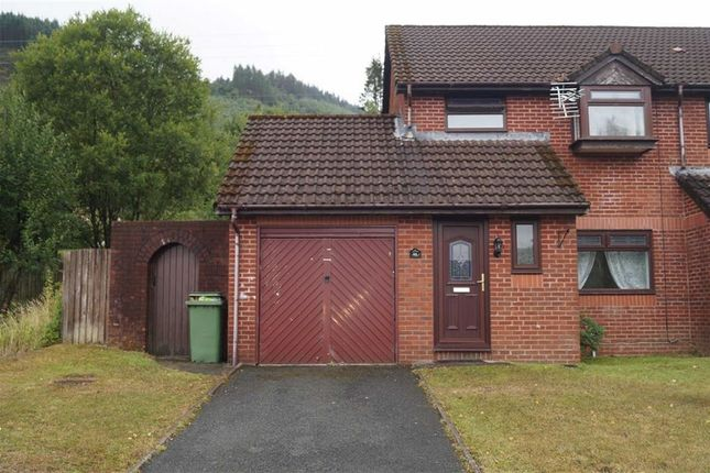 Thumbnail End terrace house for sale in Forest View, Mountain Ash