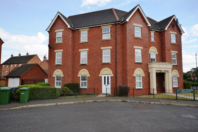 Thumbnail Flat to rent in East Water Crescent, Hampton Vale, Peterborough