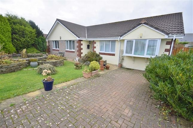Thumbnail Detached bungalow for sale in Longfield Drive, Camelford
