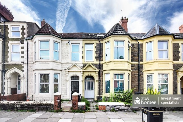 Thumbnail Terraced house for sale in Colum Road, Cathays, Cardiff