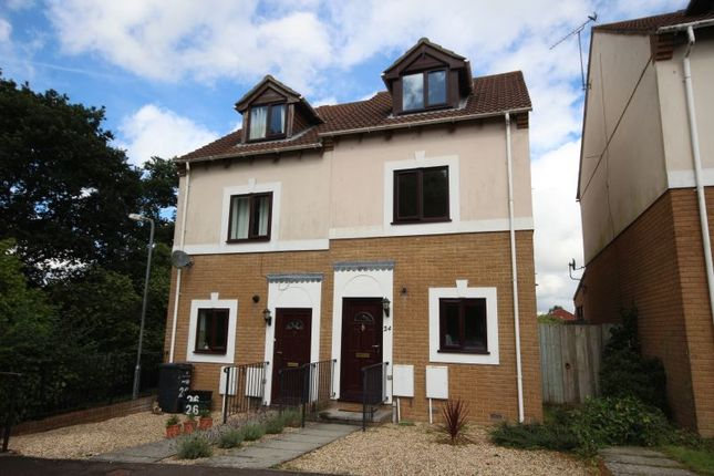 Thumbnail Semi-detached house to rent in King Arthur Drive, Yeovil