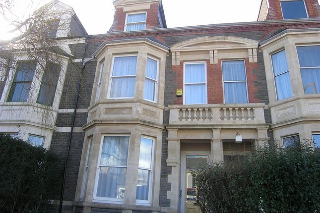 Exterior of Romilly Crescent, Canton, Cardiff CF11