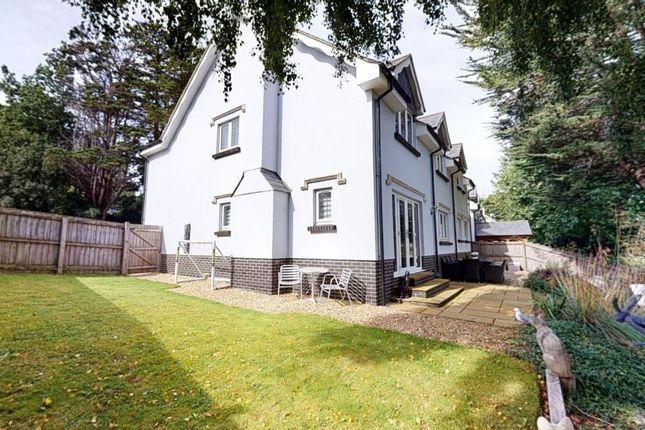 Side Garden of Clyst Hayes Gardens, Budleigh Salterton, Devon EX9