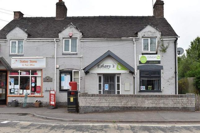Thumbnail Retail premises for sale in Newcastle Road, Whitmore, Newcastle-Under-Lyme