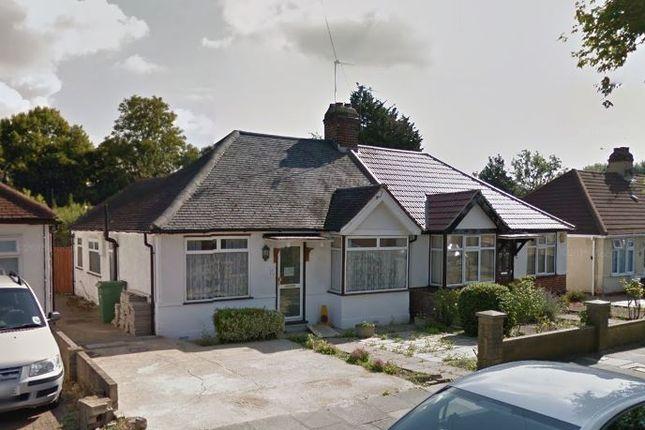 Thumbnail Semi-detached bungalow to rent in Moat Farm Road, Northolt