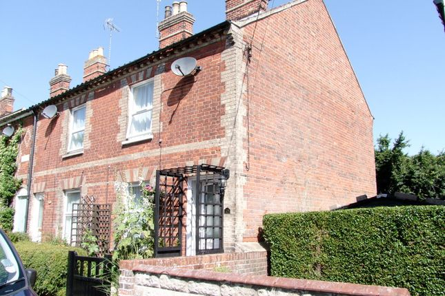 Thumbnail End terrace house to rent in Fairfield Road, Saxmundham