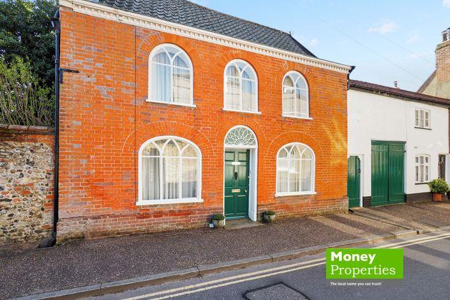 Thumbnail Semi-detached house for sale in Vicar Street, Wymondham, Norfolk