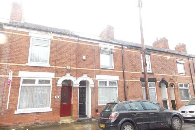 4 bed terraced house for sale in Haworth Street, Kingston Upon Hull