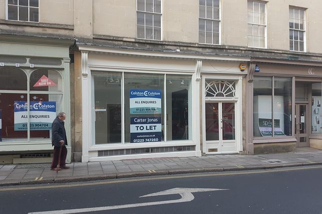 Thumbnail Retail premises to let in 23 New Bond Street, Bath, Bath And North East Somerset