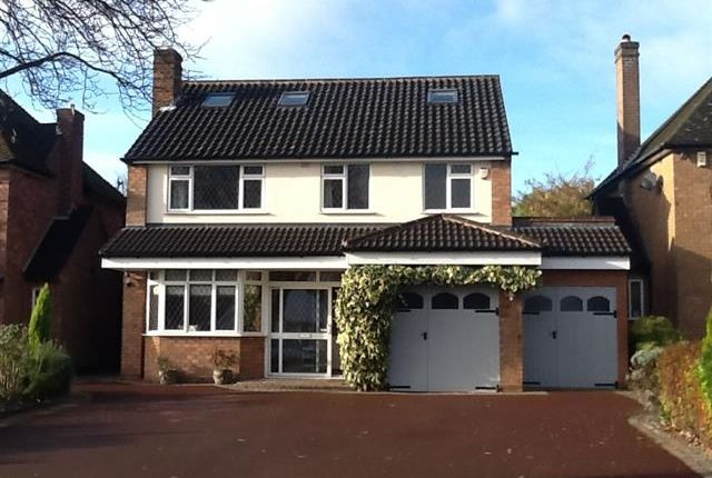 Thumbnail Detached house for sale in Irnham Road, Four Oaks, Sutton Coldfield