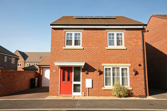 Thumbnail Detached house for sale in Canal Court, Raikes Chase, Hempsted, Gloucester