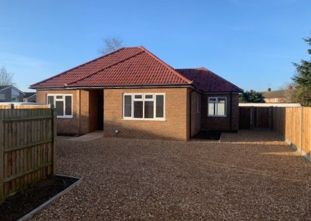 Thumbnail Detached bungalow for sale in London Road, Biggleswade