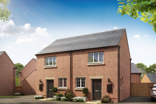 """Thumbnail End terrace house for sale in """"Wilford"""" at Shrewsbury Court, Upwoods Road, Doveridge, Ashbourne"""