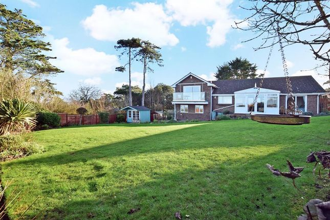 Thumbnail Bungalow for sale in Cliff Road, Totland Bay, Isle Of Wight