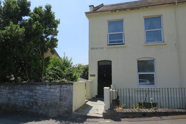 Thumbnail Flat for sale in Crosshill Villas, Stoke, Plymouth