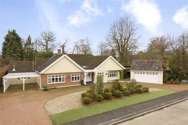 Thumbnail Detached house for sale in Thorndon Approach, Herongate, Brentwood, Essex