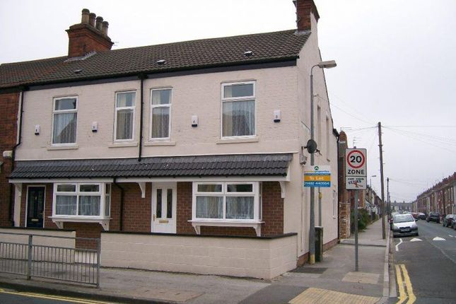 Thumbnail End terrace house for sale in New Bridge Road, Hull