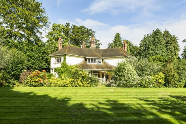 Thumbnail Detached house for sale in Cavendish Road, St. Georges Hill, Weybridge