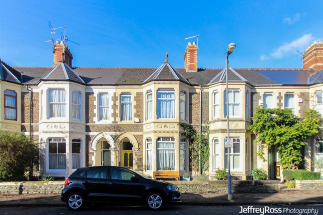 Thumbnail Terraced house to rent in Berthwin Street, Cardiff