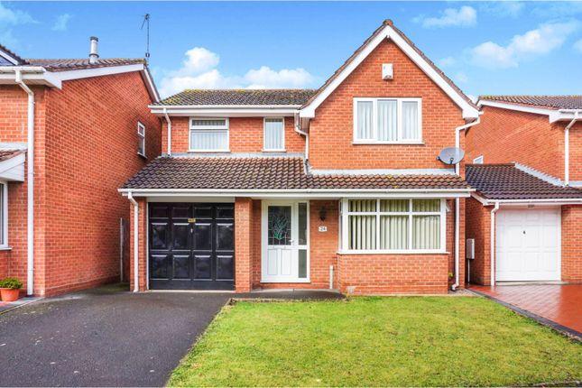 Thumbnail Detached house for sale in Radbourne Drive, Halesowen