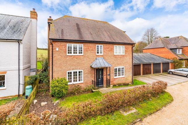Thumbnail Detached house for sale in Camp Field, Kings Somborne, Stockbridge