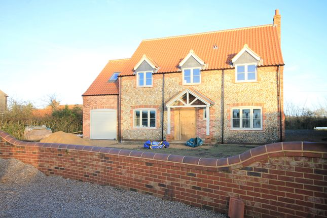 Thumbnail Detached house for sale in New Road, Whissonsett, Dereham