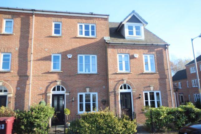 Thumbnail Town house to rent in Hall Bridge Gardens, Crompton Way, Bolton, Lancs, .