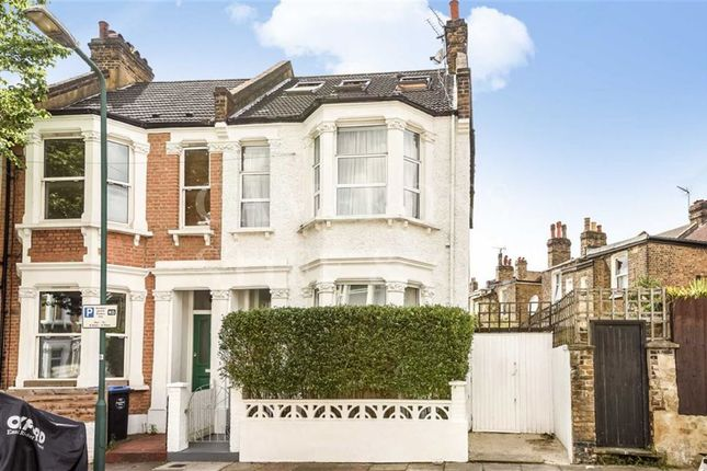 Thumbnail End terrace house to rent in Berens Road, Kensal Rise, London