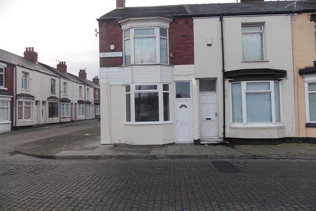 External of Ross Street, Middlesbrough TS1