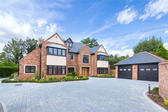 Thumbnail Detached house for sale in Avenue Road, Dorridge, Solihull, West Midlands