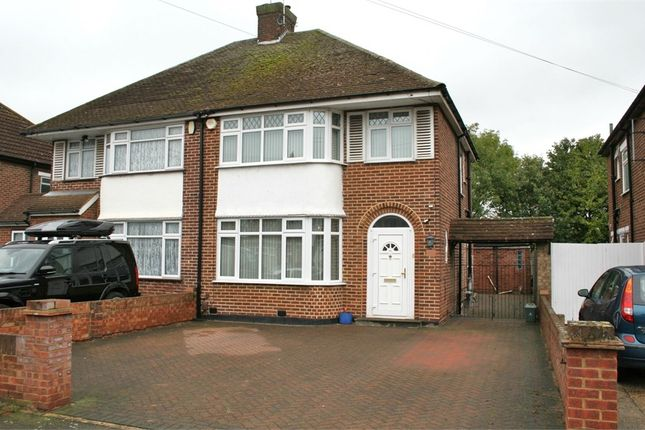 Thumbnail Semi-detached house for sale in Barnhill Road, Yeading, Hayes