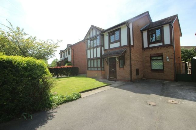 Thumbnail Detached house for sale in Dorchester Drive, Wythenshawe, Manchester